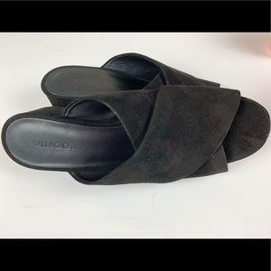 Vince Velvet Sandals